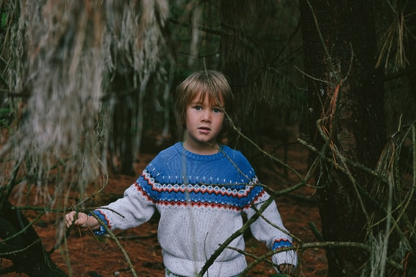 Kids Wolly Jumper image
